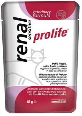Prolife Gatti Veterinay Formula Renal Sensitive per GATTI | cod. 8015579033795